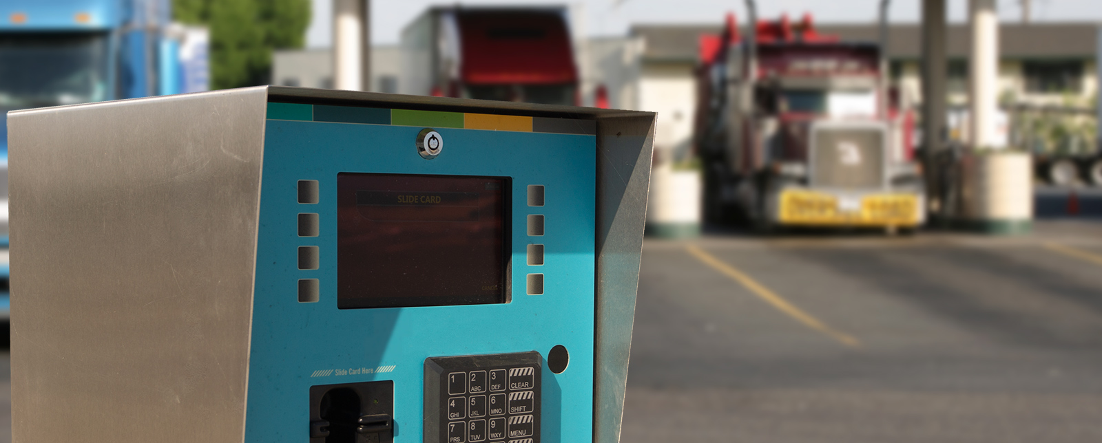 cardlock card reader truck stop